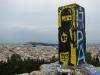 Blick vom Strefi-Hügel auf Athen