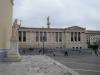 Platz vor der Akademie von Athen