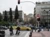 Blick aus der Stadt auf den Lykavittos.